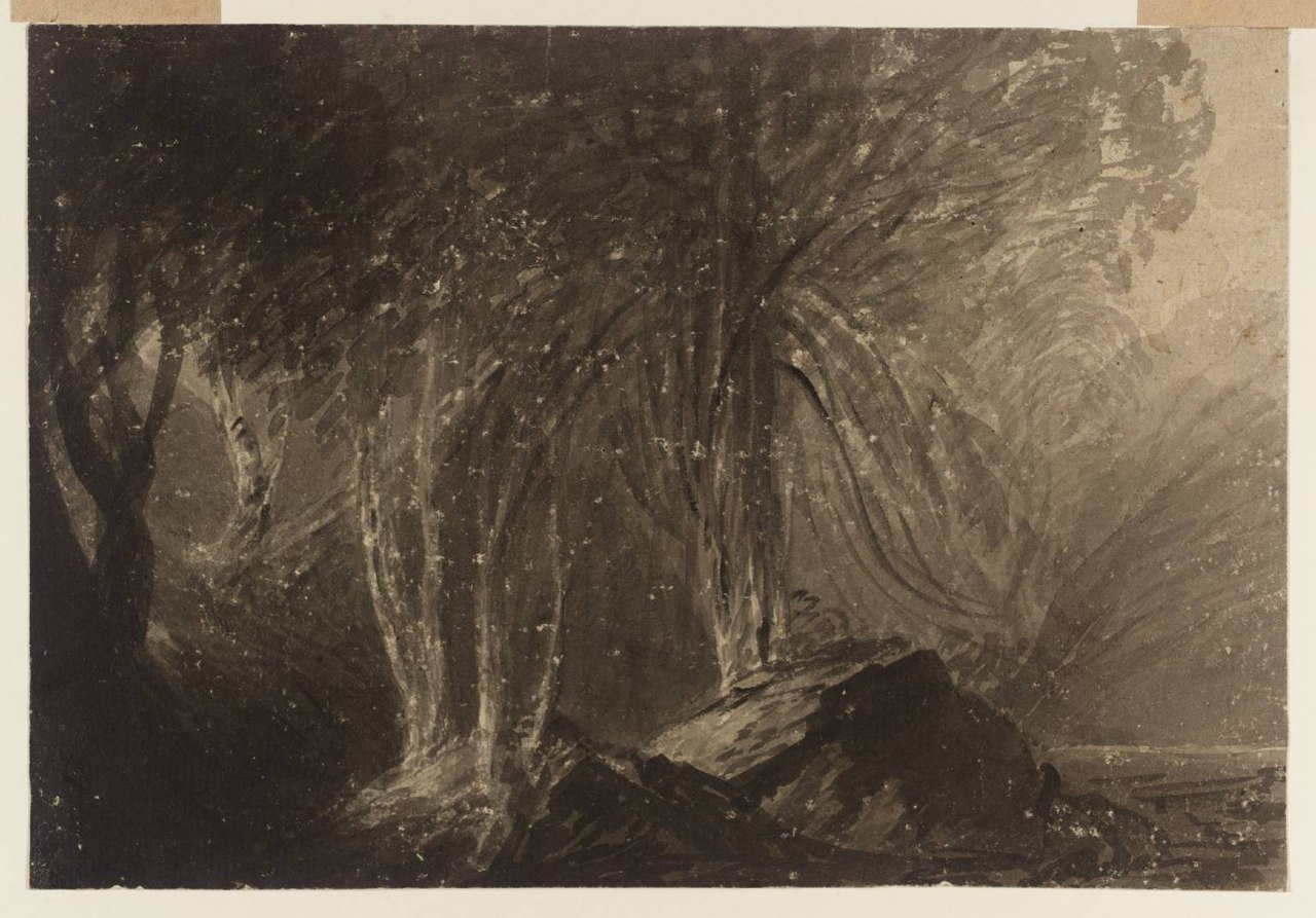 John Martin - Trees