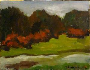 "Vyacheslav Agalakov - ""The Waterside"", 2003."