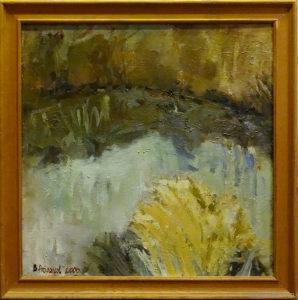 "Vyacheslav Agalakov - ""The Backwater"", 2000."