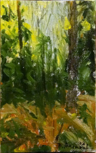 """Vyacheslav Agalakov - """"The Forest"""", 1998."""