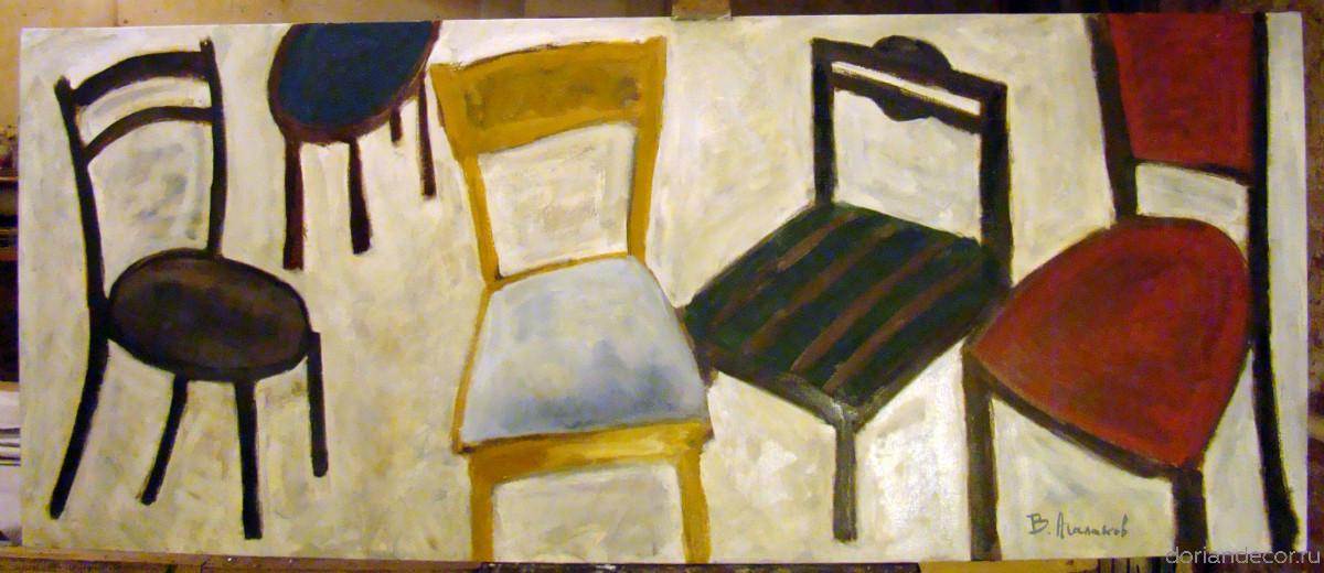 "Vyacheslav Agalakov - ""Chairs"""