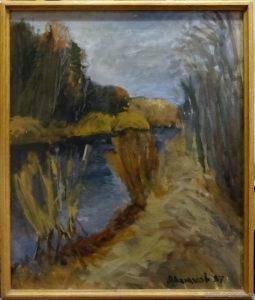 """Vyacheslav Agalakov - """"The Late autumn"""", 1997."""