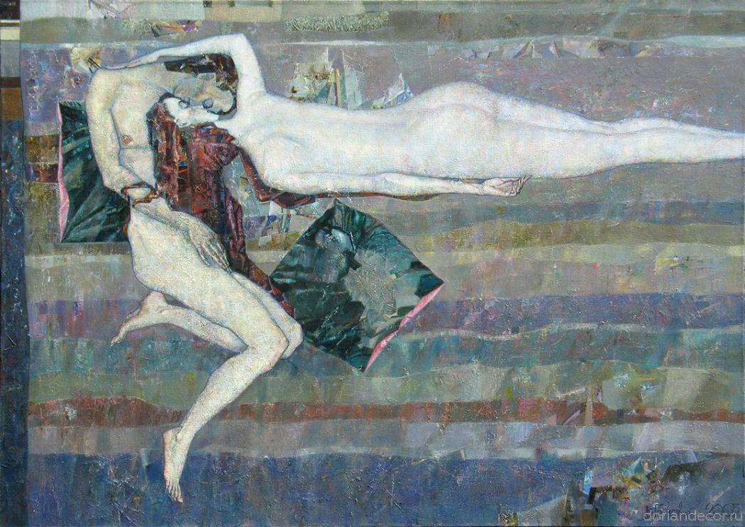 """Виктор Головий - """"Белая Ночь"""", 2005. Холст, масло. Собственность автора."""