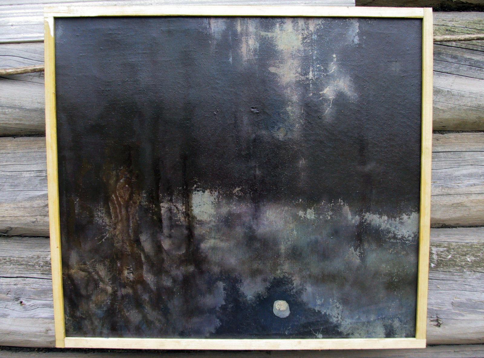 Дориан Артемьевич Голдобин - художник - живопись - река Луга