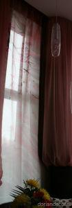 """Ирина Агалакова - Штора в частный интерьер """"Сакура"""". Левая часть триптиха. Высота - 450 см."""