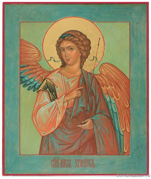 Светлана Медведева. Ангел Хранитель. 2009 год, 23x18 см.
