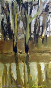 """Вячеслав Агалаков - """"Отражение"""", 1998 г."""