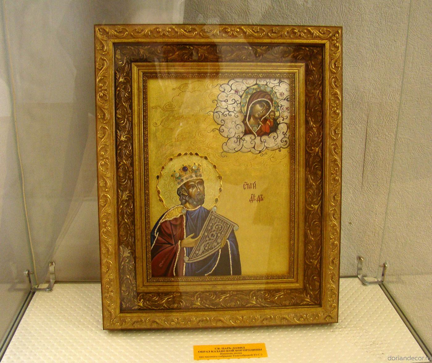 Иконопись на пергаменте Александры Майстренко