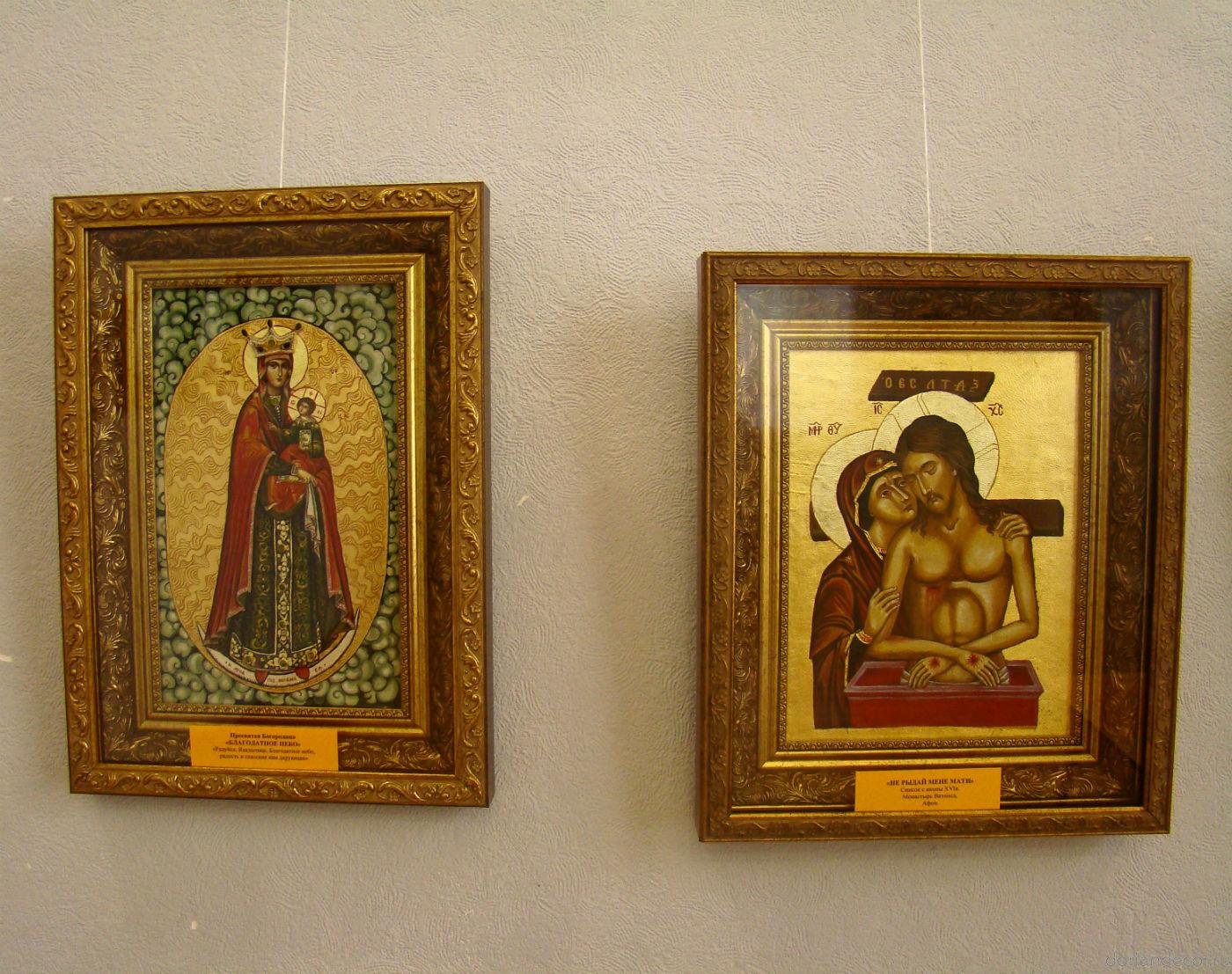 Сусальное золото в иконописи