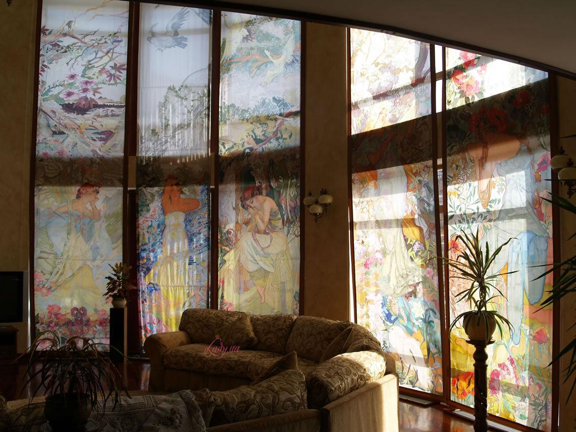 Батик окна