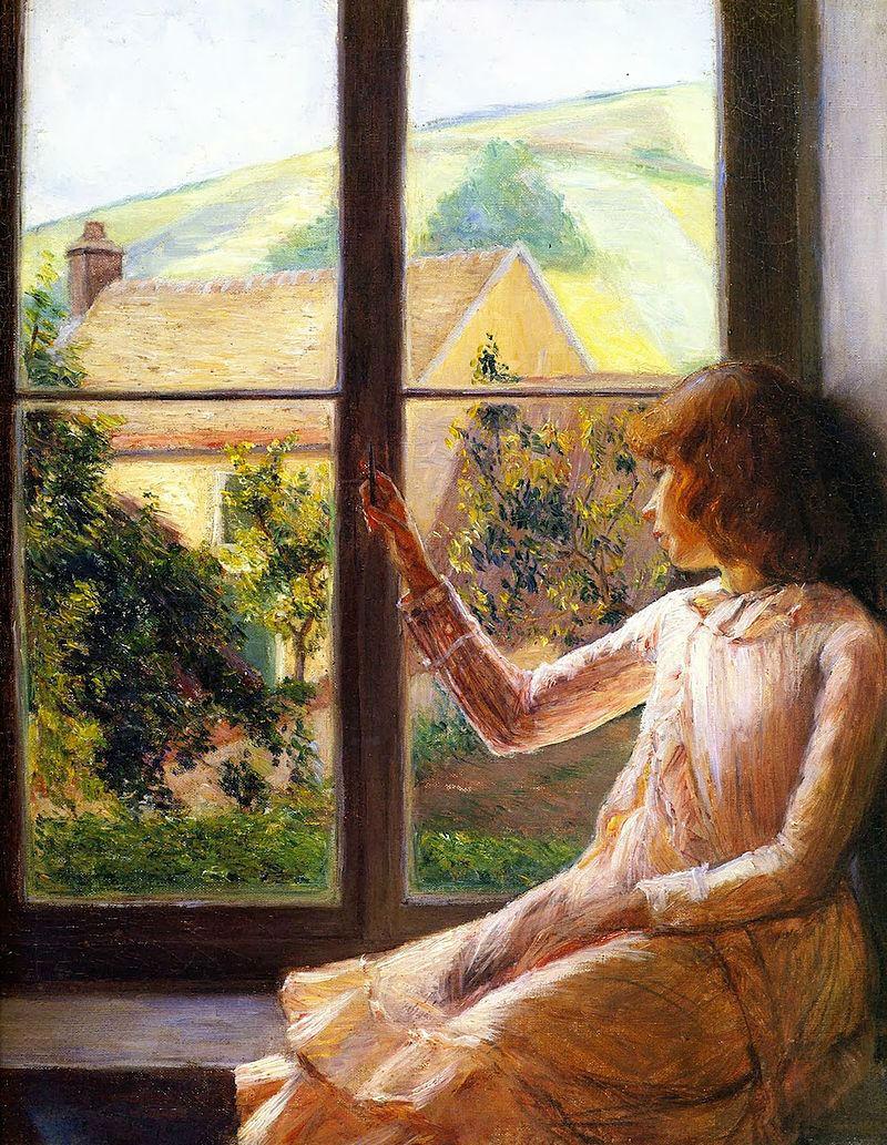 Лила Кэбот Пэрри - Ребёнок у окна