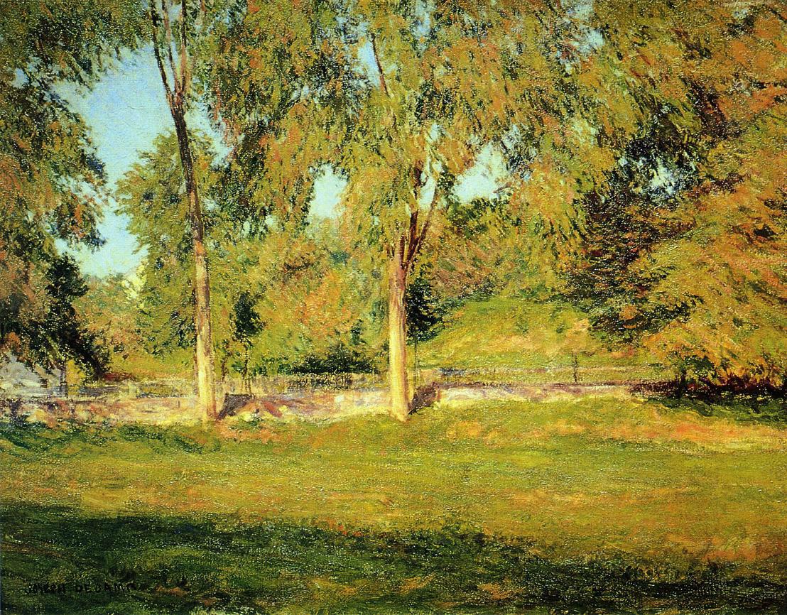 Джозеф Де Камп - Сентябрьский полдень, 1895