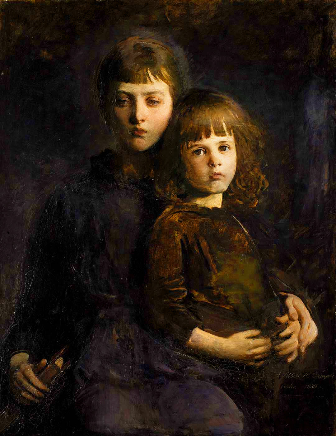 Abbott Handerson Thayer - Brother and Sister