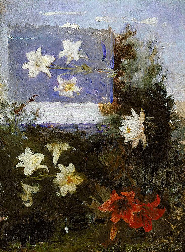 Abbott Handerson Thayer - Flower Studies