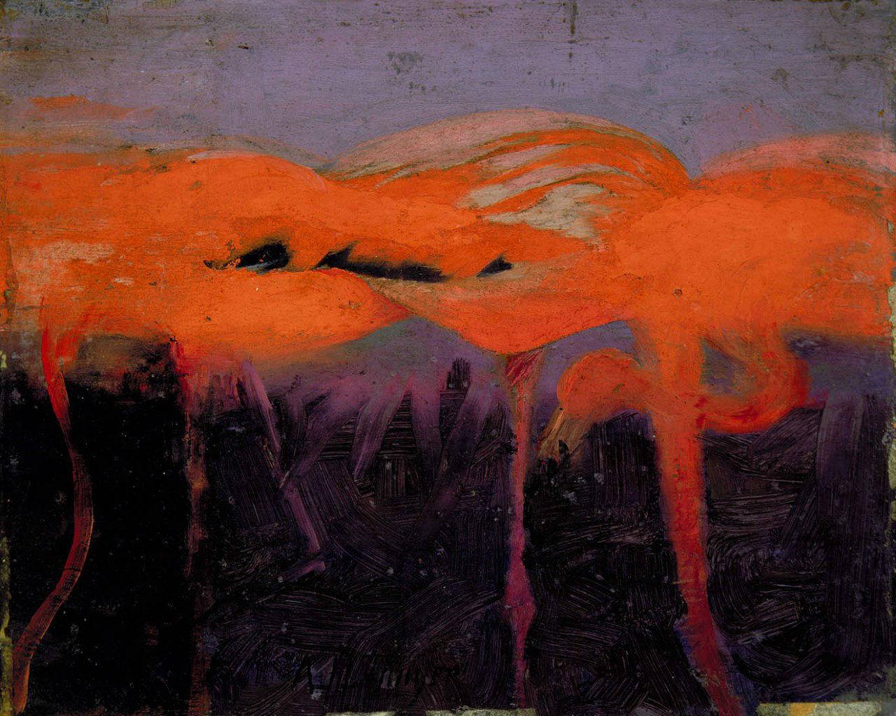Abbott Handerson Thayer - Red Flamingoes