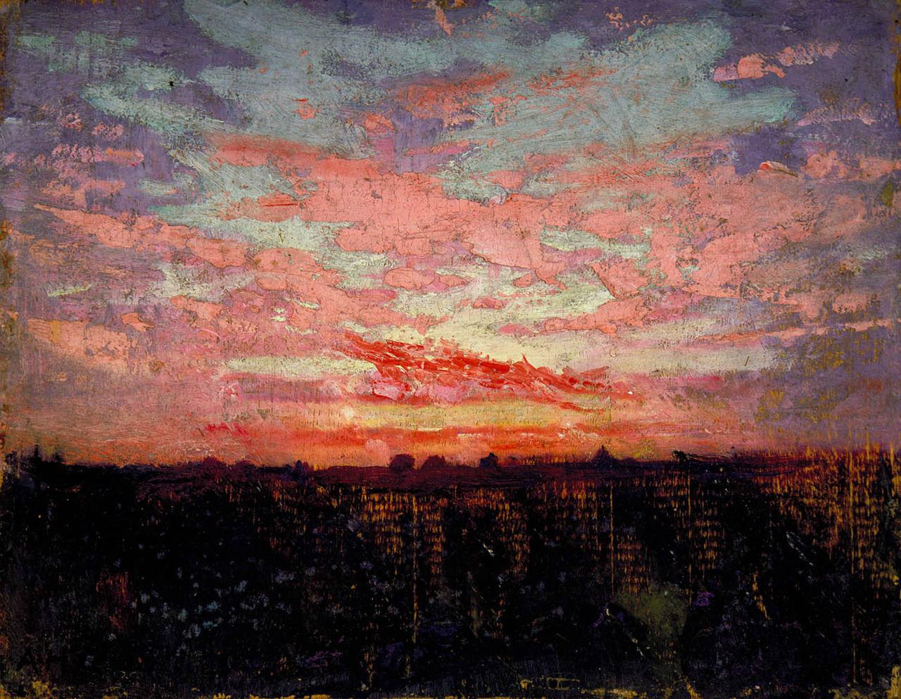 Abbott Handerson Thayer - Sunset