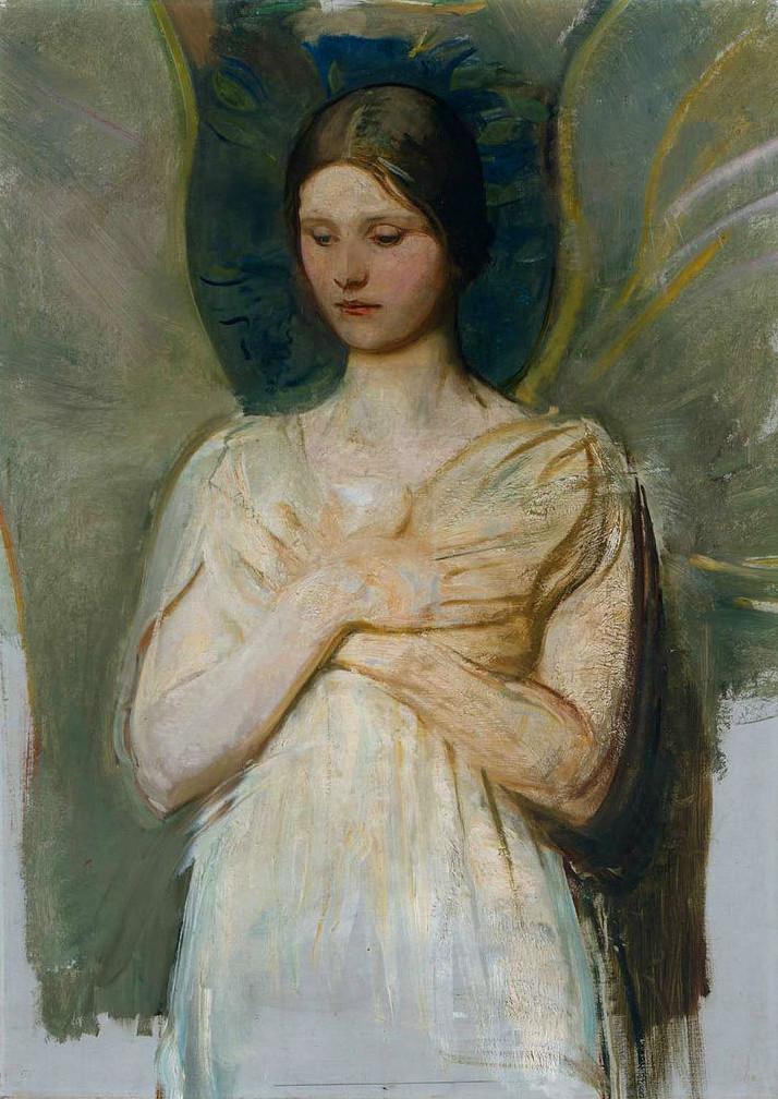 Abbott Handerson Thayer - The Angel