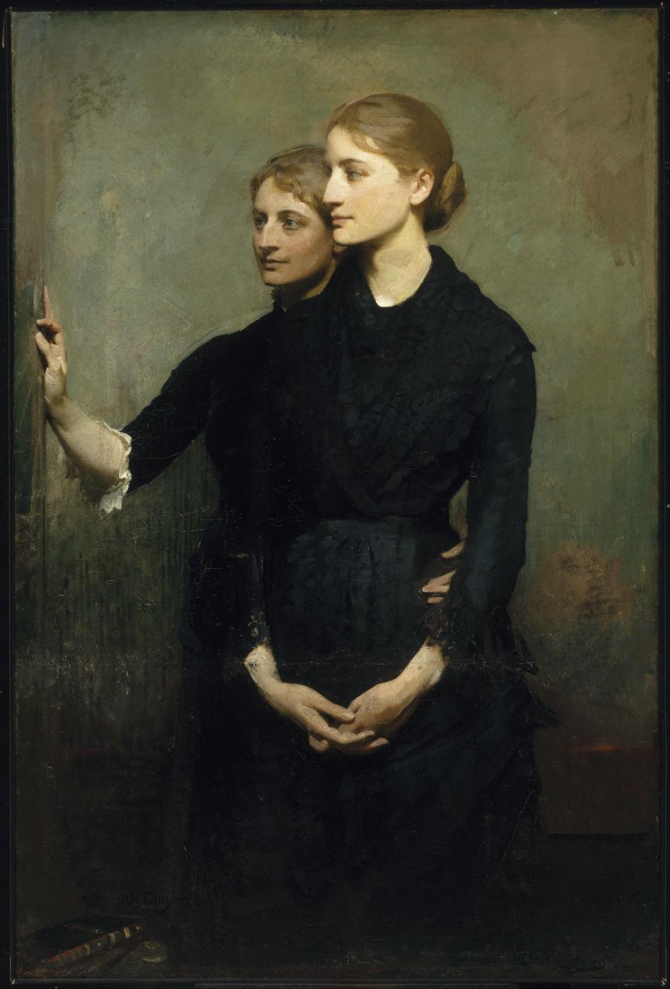 Abbott Handerson Thayer - The Sisters, 1884