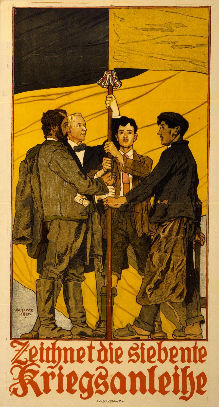 Maximilian Lenz - 1917 - Zeichnet-die-siebente-Kriegsanleihe