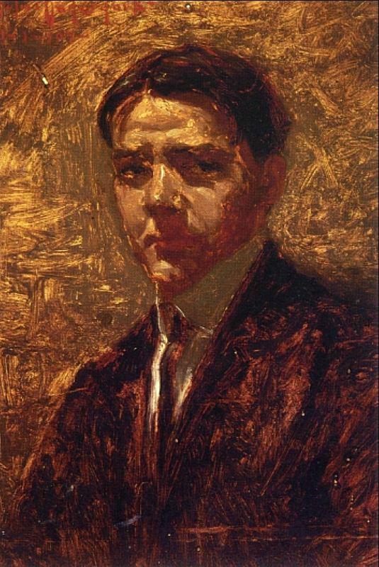 Robert Julian Onderdonk - Автопортрет, 1902