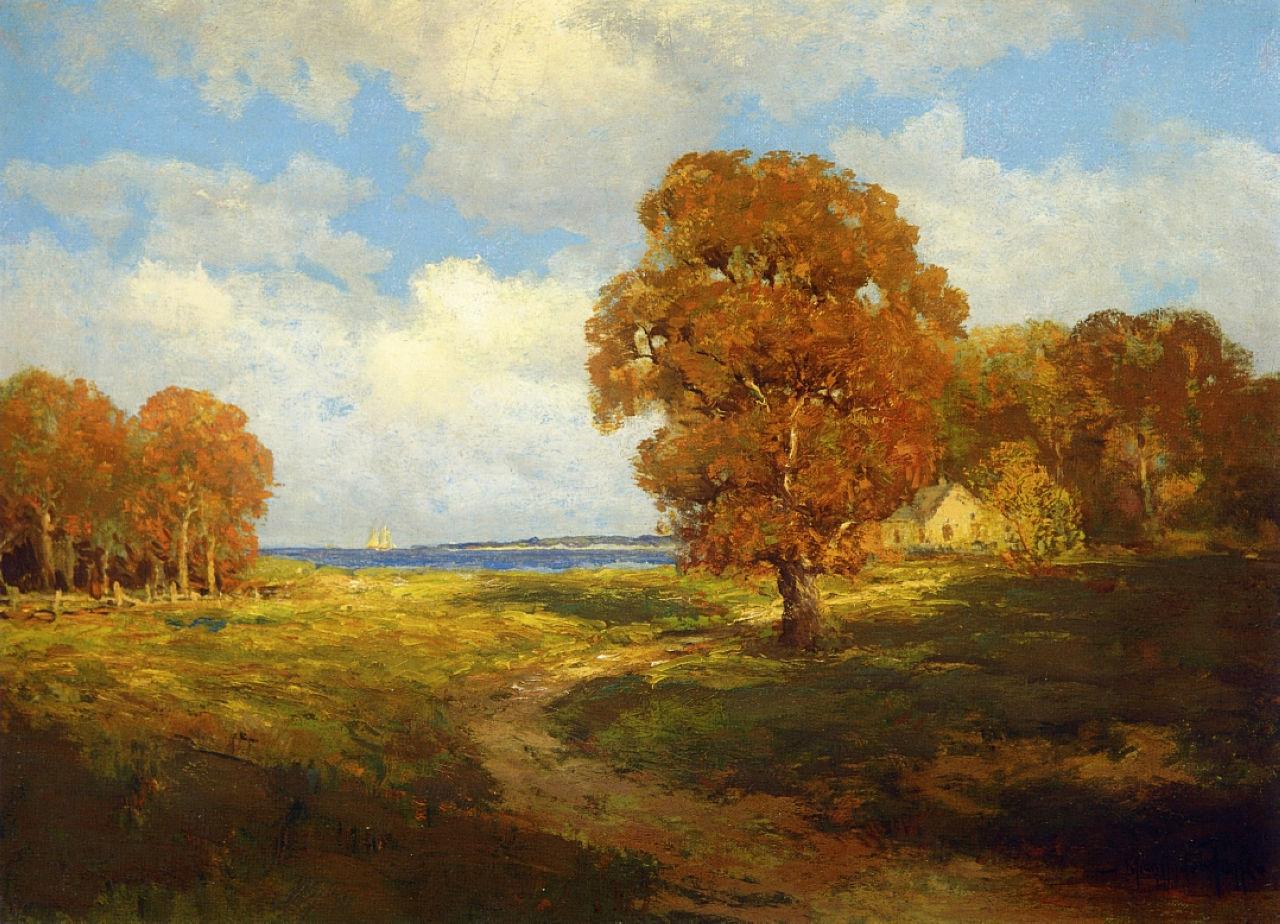 Robert Julian Onderdonk - glimpse-of-the-sea-long-island-1906