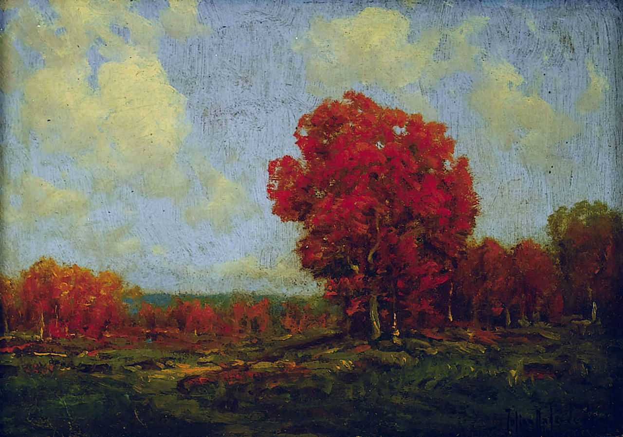 Robert Julian Onderdonk - october-day-1908