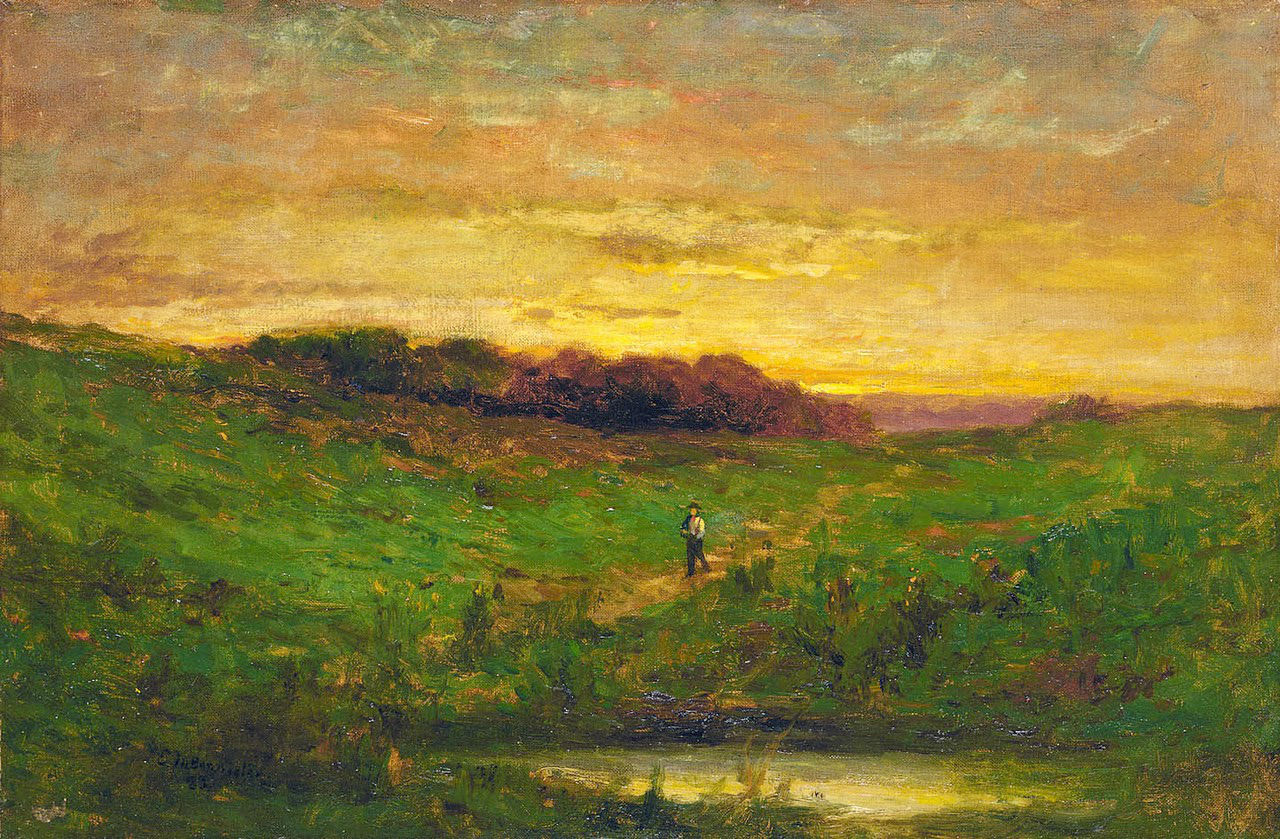Edward Mitchell Bannister - Sunset, 1883