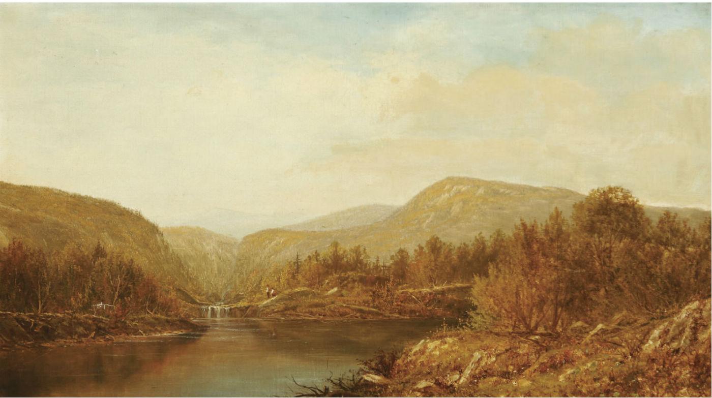 Charles Wilson Knapp - Autumn_Landscape
