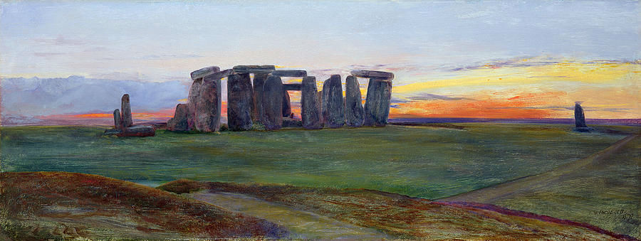 John William Inchbold - Stonehenge