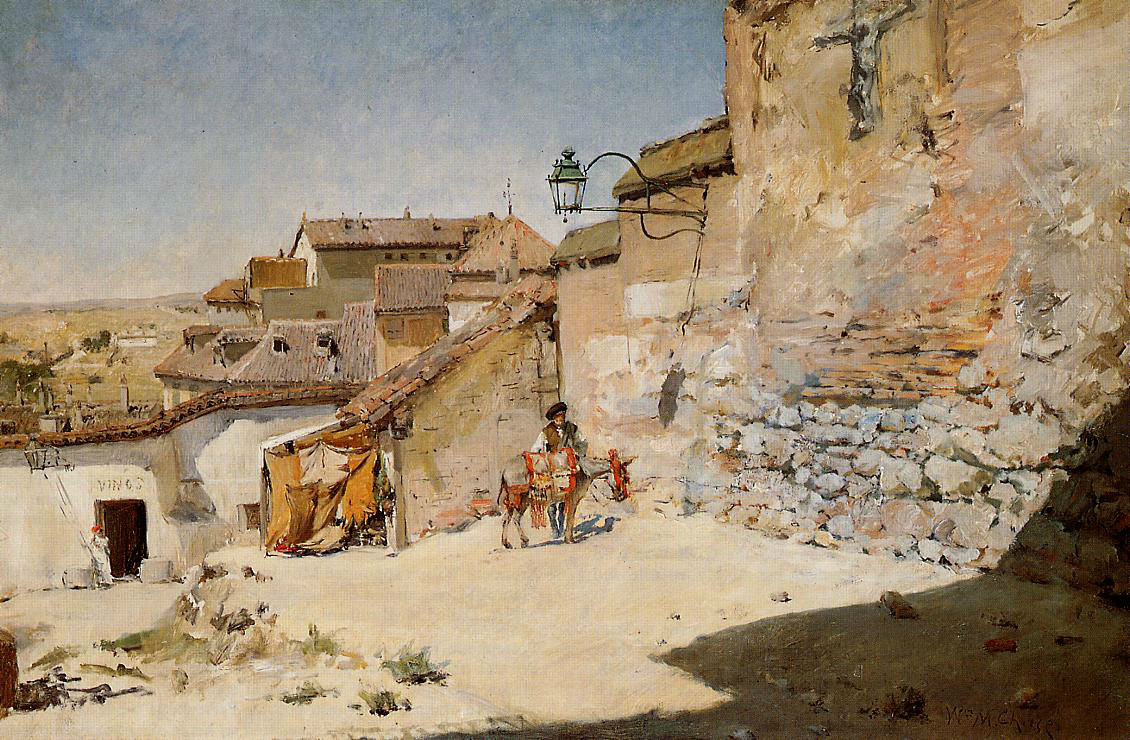 John William Inchbold - Sunny Spain