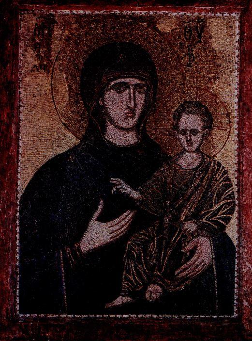 Богоматерь-Одигитрия, 13-14 в.