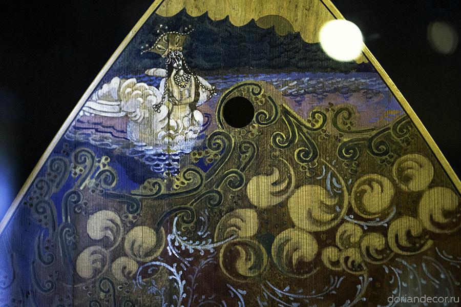 Художественная роспись музыкальных инструментов