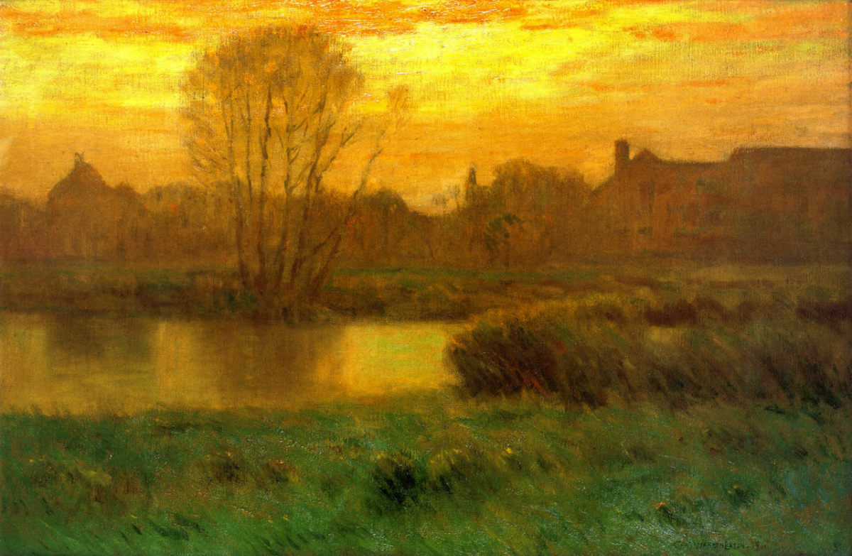 charles-warren-eaton-spring-sunset