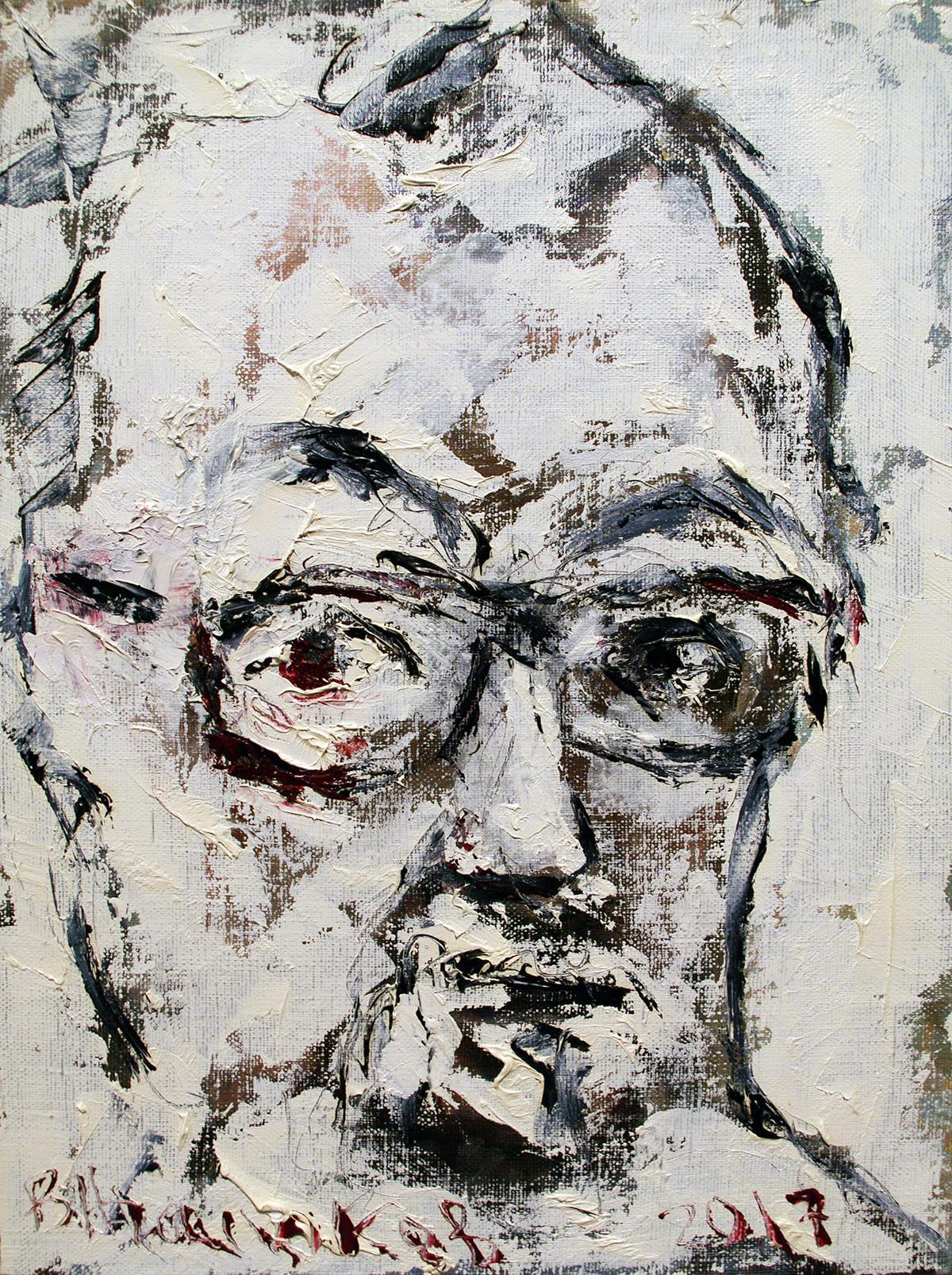 """Вячеслав Агалаков - """"Автопортрет №47, 2017"""