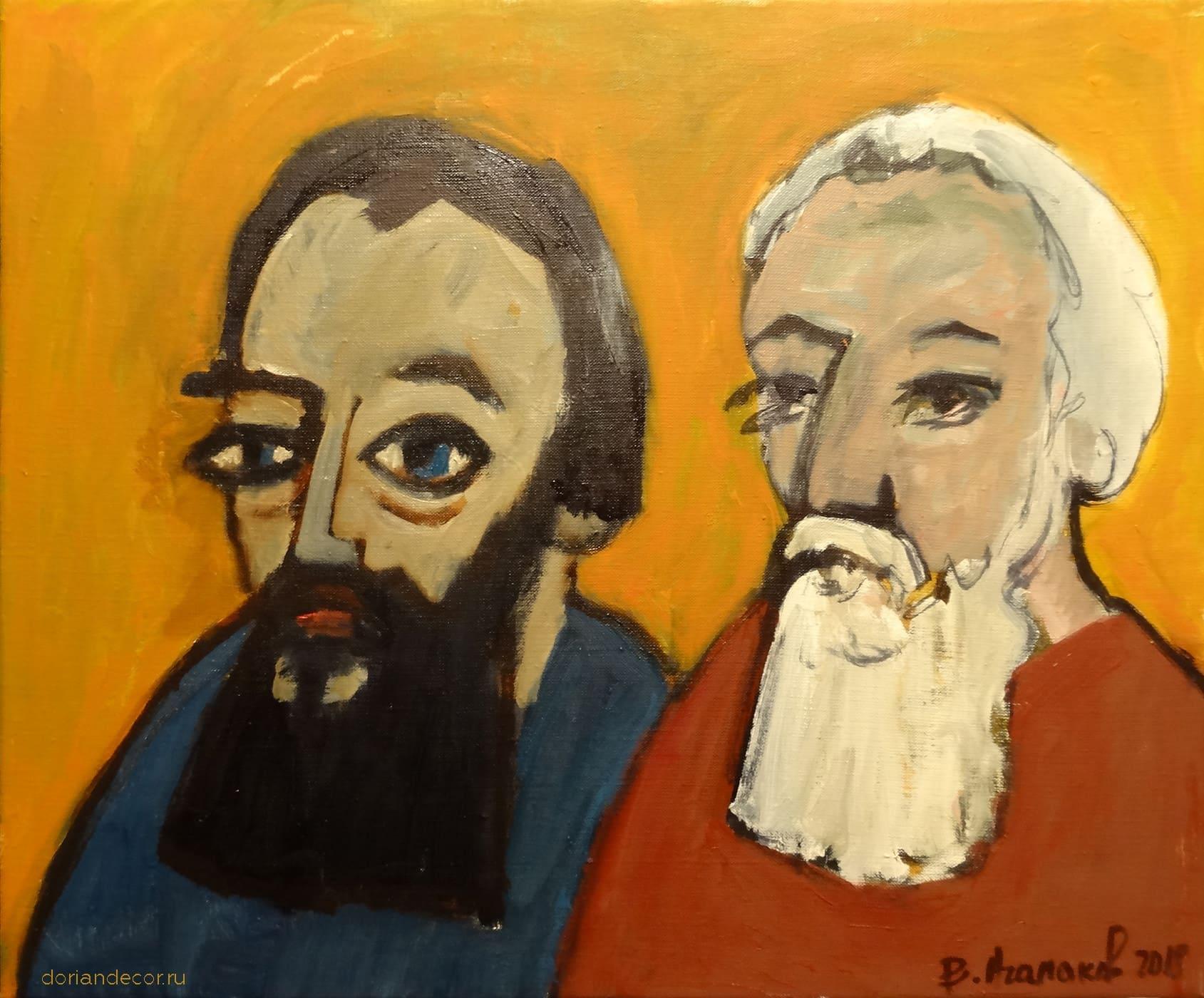 """Вячеслав Агалаков - """"Черная борода, и белая борода"""", 2018"""